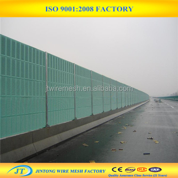 Outdoor Metal Sound Wall Panel /noise Control Acoustic Barrier - Buy Noise  Control Acoustic Barrier,Acoustic Barrier,Sound Wall Panel Product on