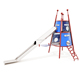 Children outdoor gymnastic equipment plastic slides outdoor playground