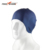 Pure color silicone long hair swim caps ear protection swim cap