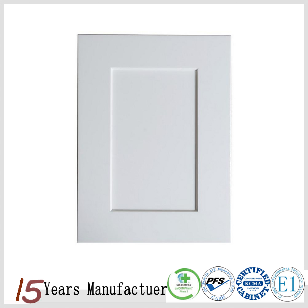 Modular Shaker Style White Kitchen Cabinets Doors For Sale