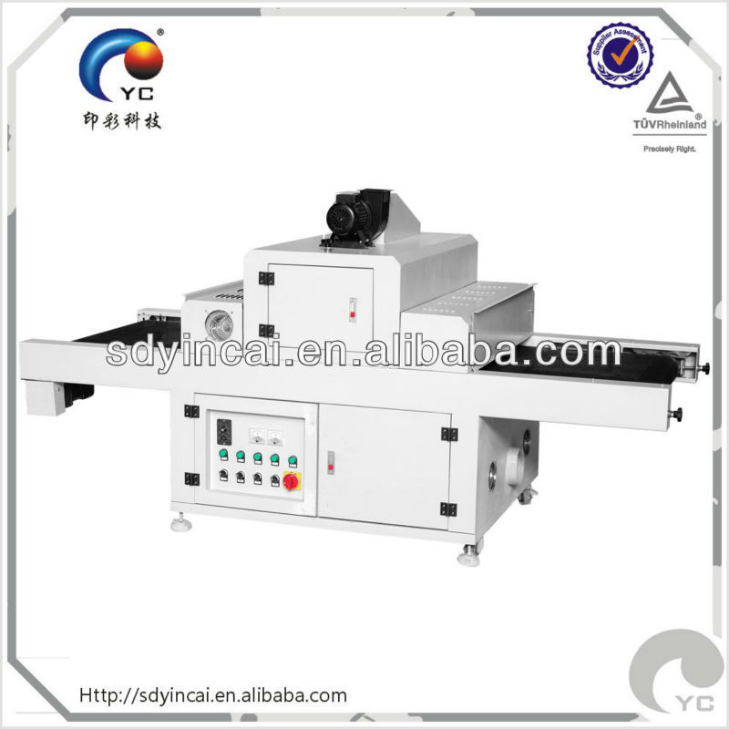 Flat-bed product UV curing machine