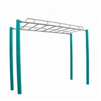 Street outdoor sports fitness equipment horizontal ladder gym exercise Monkey Bars outdoor fitness equipment horizontal ladder