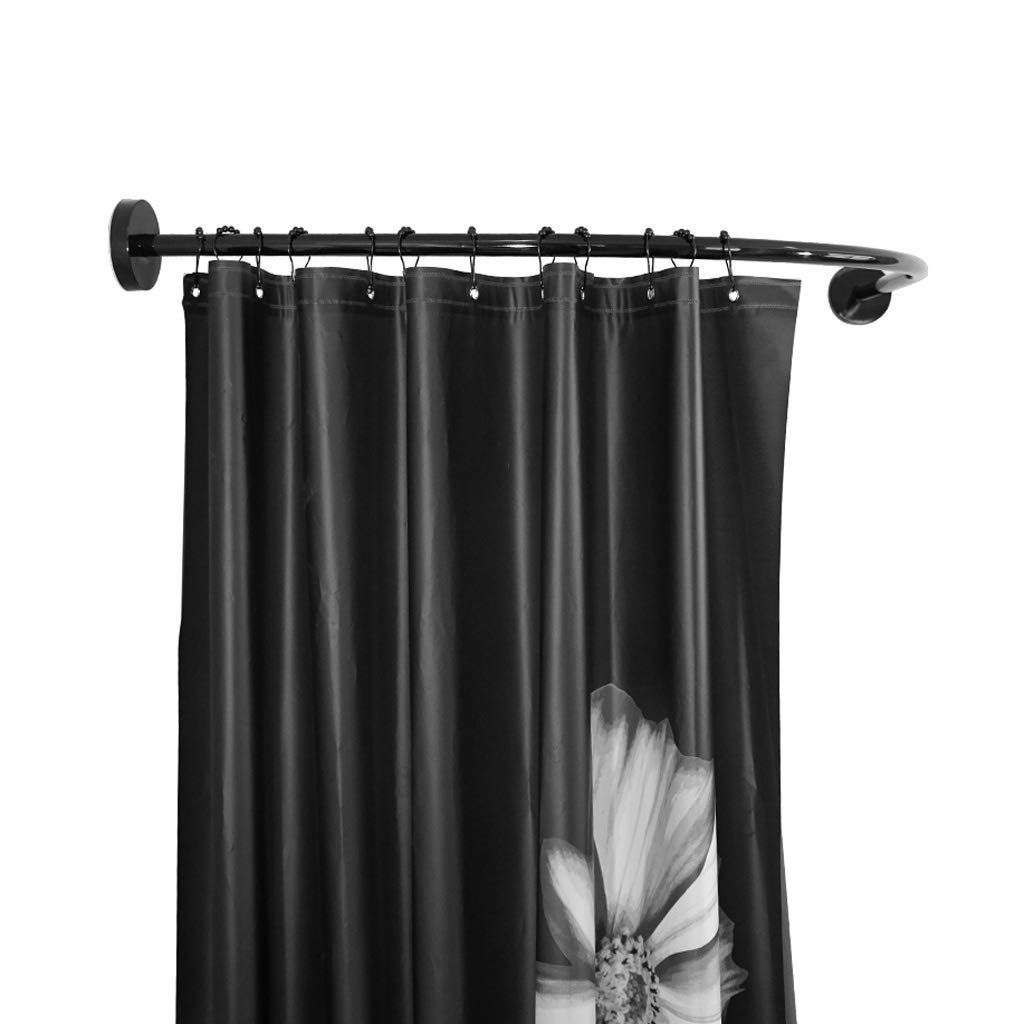 Buy Adjustable L Shaped Shower Curtain Rod Shower Curtain