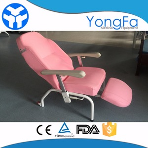 YFY-III Hospital chair for blood donation cheap medical blood collection chair for patients