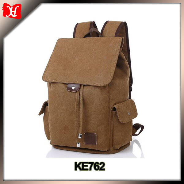 OEM backpack Canvas rucksack backpack mens backpack laptop