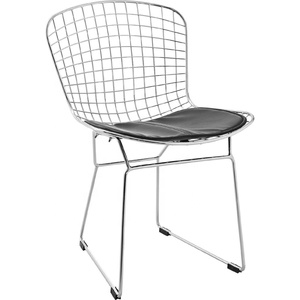 Factory Supply Wire Mesh Chair Wire Dining Chair Metal Wire Chair