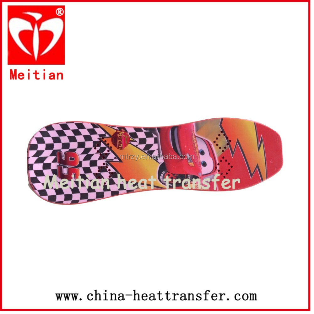 [Professional factory] 2014 hot sales heat tansfer printing film for skateboard/heat transfer factory