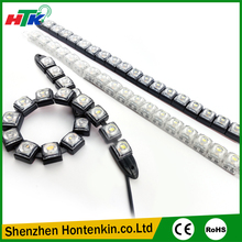 2pcs/Set 18LEDs Flexible DRL Daytime Running Light Driving Daylight Turn Light For Cars