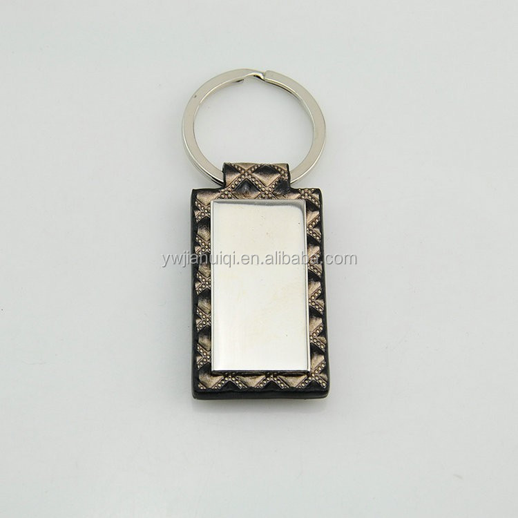 New product fashion genuine leather keychain high demand products in china