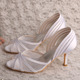 Wedopus White Wedding Shoes for Bride