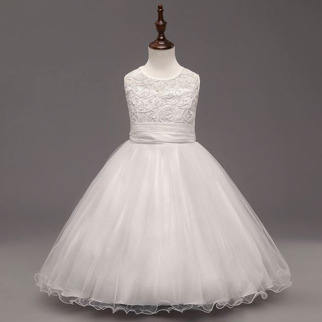 Kids Clothes China Birthday Celebrated 3 5year Old 2 Years Baby Girl Wedding Dress