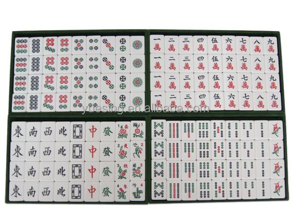 special taiwan mahjong set jade green mahjong tiles for sale
