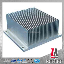 6063 series extruded aluminum heat sink manufacturers