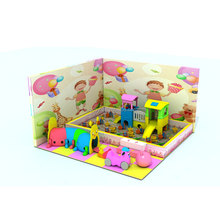 Small stores to amusement equipment, Pink theme indoor amusement park games and indoor playground maze