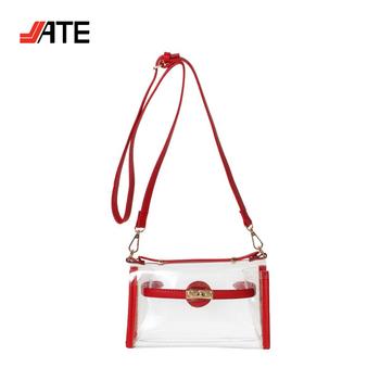 0613d284aaa2 Fashionable Woman Clear Pvc Crossbody Bag Pvc Clear Tote Bag - Buy Pvc Tote  Bag,Pvc Clear Bag,Clear Pvc Crossbody Bag Product on Alibaba.com