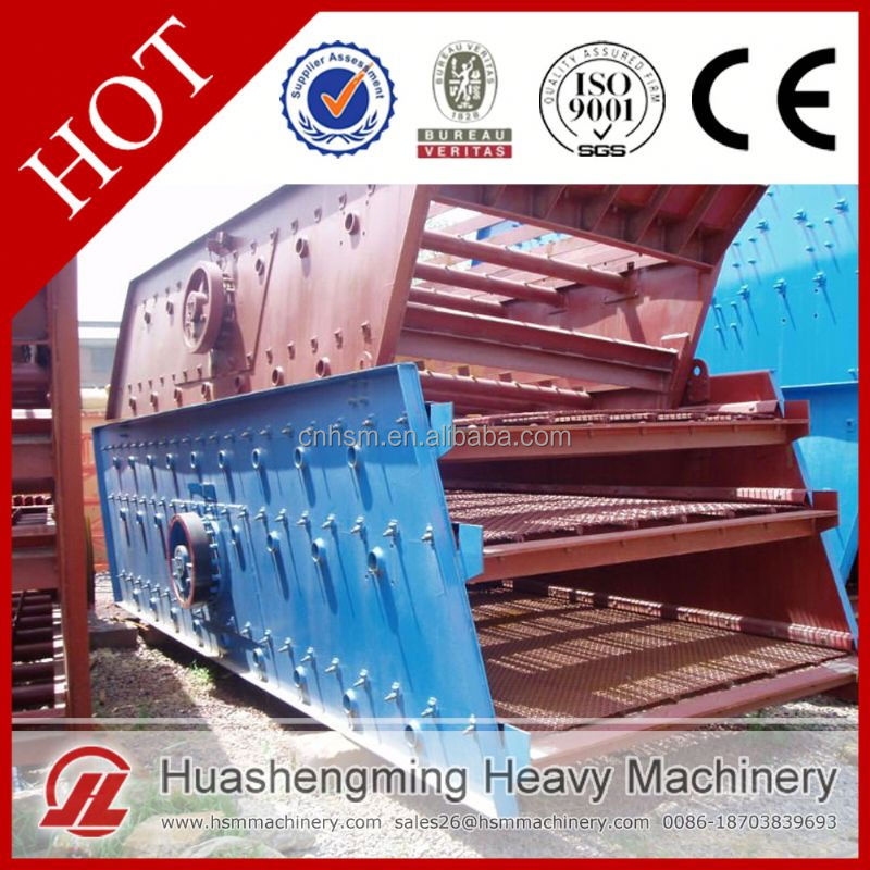 HSM Professional Best Price Sand Screening Plant Mini Vibrating Screen