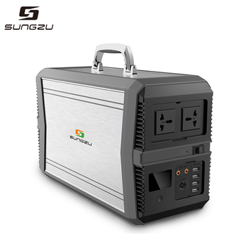 Portable Generator Power Inverter Battery 1000W Camping Emergency Home Use UPS Power Source