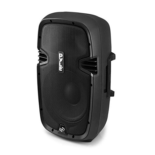 Pyle Powered Loudspeaker [Active PA Speaker System] Digital Sound Amplifier   2-Way Stereo Sound & Power Bass   8-Inch Subwoofer   600 Watt (PPHP803MU)