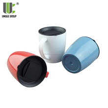 Novelty Products Ceramic Coating Vacuum Insulated Gun Coffee Mug Custom Logo
