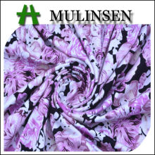 Mulinsen Textile Ring Spun 100 Viscose Single Jersey Printed Knitted Fabric for Garment