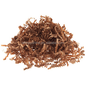 Brown Shredded paper / Kraft Crinkle Paper Shred / Crinkle Cut Shred Paper