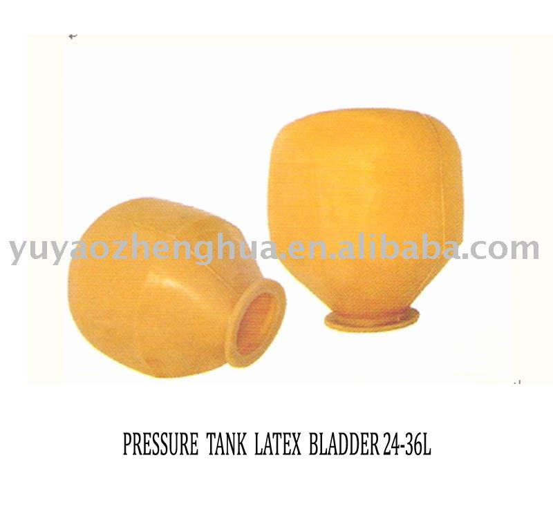 Epdm-Butyl-Latex-Natural Rubber Hydrophore And pressure tank membrane bladder