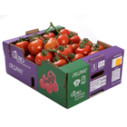 OEM folding fresh fruit and vegetable packaging corrugated cardboard vegetable box