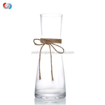 Wedding And Home Decoration Small Glass Vase Votive Glass Vase With