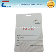 Custom logo Airline baggage tags