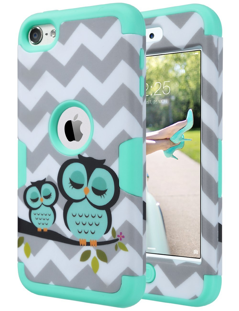 Buy iPod Touch 6th Generation Case for Girls,ULAK 3 in 1 ...