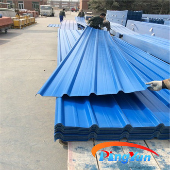 Upvc Light Weight Cheap Corrugated Plastic Roofing Sheet