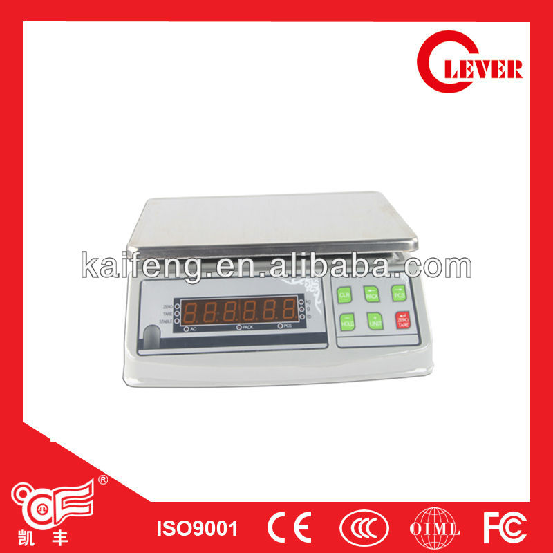 Electronic Weight Scale And Count Scales 30kg From Kaifeng Group