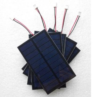 Custom Round Solar Panel Enclosed Epoxy Material 0 4w