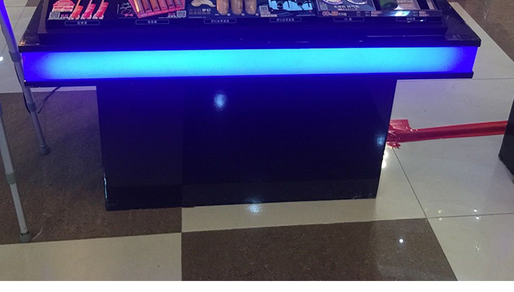 factory direct sale cosmetic store counter display furniture counter rack