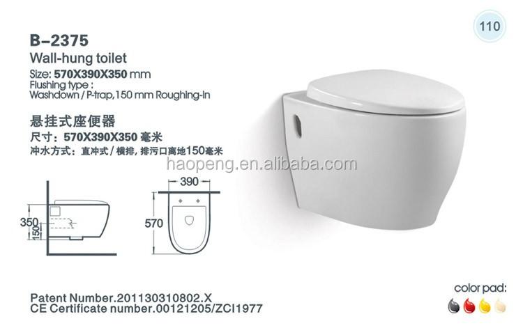 Water Closet Toto Toilet / China Toilet Bowl Price / Back To Wall Toilet