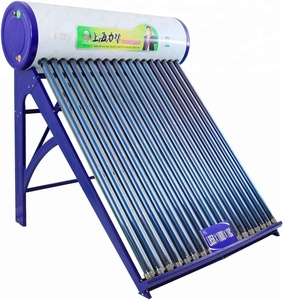 High Performance evacuated tube portable non-pressurized electric water heater solar hot water systems