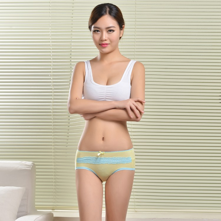 Colorful Lace Underwear Women Panties Bamboo Sexy Fat Girls ...