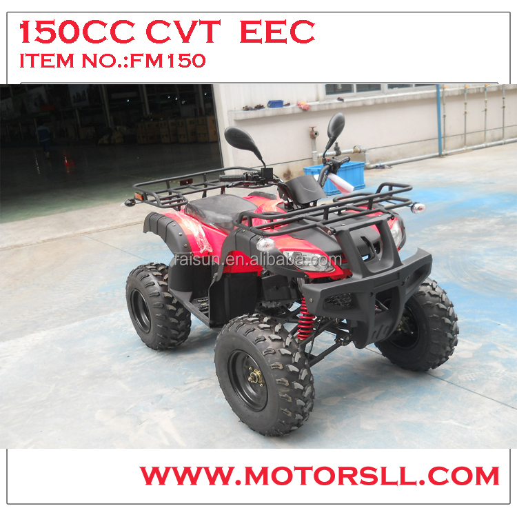 EEC certificate gy5 engine 150cc CVT with reverse gear atv