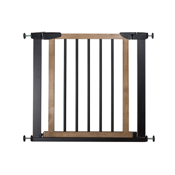 Genial Home Safety Easy Lock Children Safety Stair Metal Baby Safety Gate