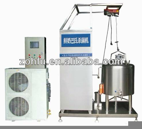 Cow Milk Pasteurizer/juice pasteuriztion machine