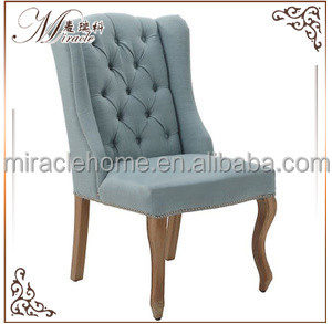 Factory direct supply good quality rustic restaurant wood folding chairs in China