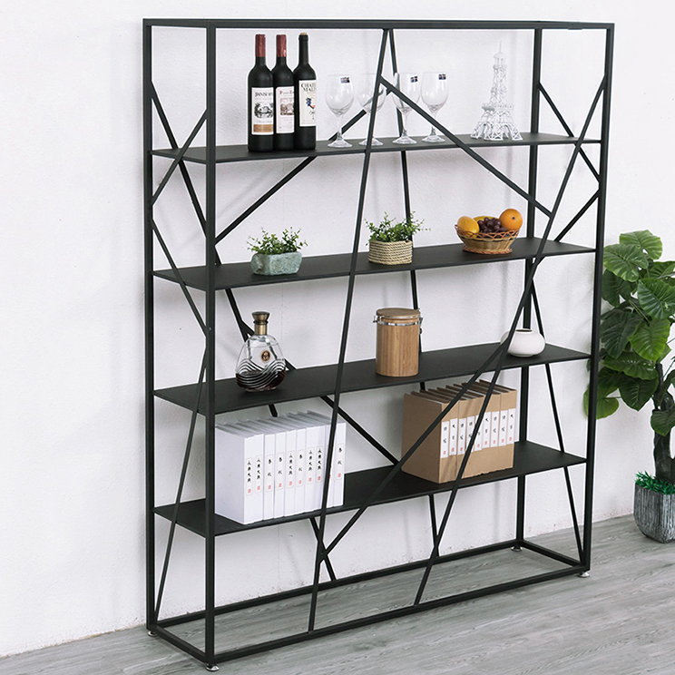modern iron artwork commodity shelf for decoration