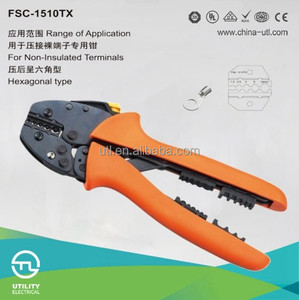 carbon steel electrical tool wire combine plier 0.5-10mm2 crimping capacity crimping tool plier