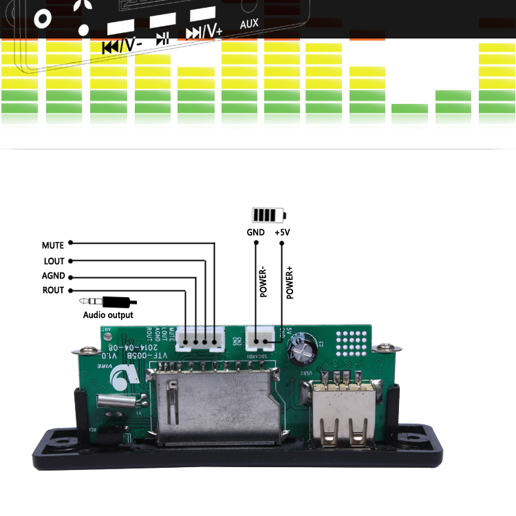 vire diagram circuit board usb mp3 player radio fm lcd buy vire diagram circuit board usb mp3 player radio fm lcd