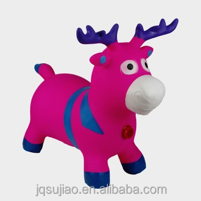 Promotion Toys Jumping Animals Toy,Christmas PVC Jumping Animals,Environmental Plastic Jumping