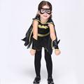 Direct Selling Girls Batman Cosplay Clothing Child Fantasy Fancy Dress Kids Carnival Party Halloween Costume EK074