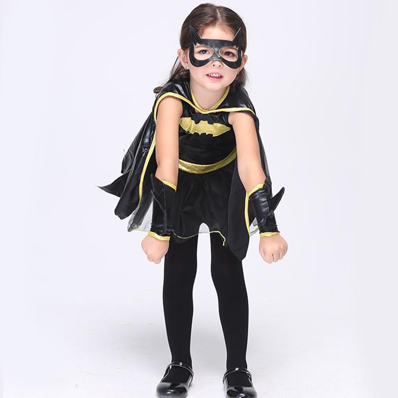 Direct Selling Girls Batman Cosplay Clothing Child Fantasy font b Fancy b font font b Dress