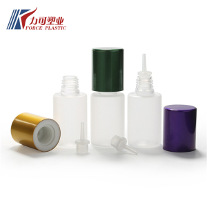 Newest design product 10ml e liquid bottle / olive oil pet bottle from shenzhen manufacturer