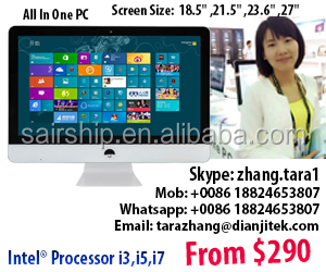 "24"" inch /27""inch Intel Core i7-4770 All-In-One PC /AIO/All IN 1 /ALL IN ONE DESKTOP /8GB Memory /1TB HDD /256 GB SSD optional"
