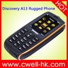 Discovery A13 waterproof shockproof dustproof cell phone